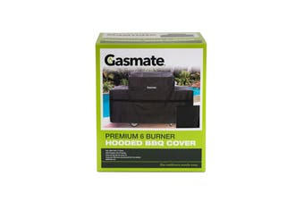 Gasmate 6 Burner Hooded Premium BBQ Cover