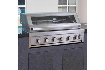 Gasmate Series II 6B BBQ without sideburner - Built In
