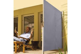Excalibur Outdoor Living Retractable Privacy Side Screen & Sun Shade