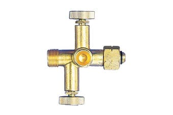 Gasmate Adaptor to create two appliance connections