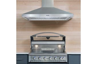 Gasmaster Large Outdoor Stainless Steel BBQ Rangehood