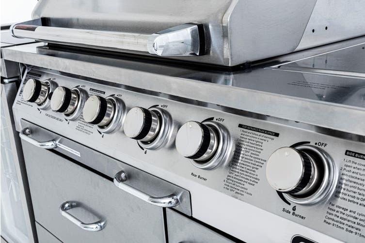 Gasmate Professional 6 Burner BBQ Kitchen