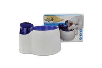 3L Pet Water Filter Fountain Fresh Bowl AFP Interactive Dog Cat Purifier