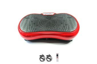 Red Vibration Machine Platform Plate Vibrating Power Shape Exercise Fitness Fit