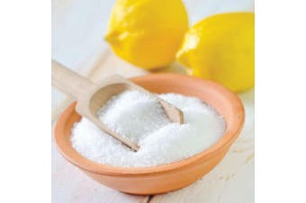 1Kg Citric Acid Food Grade Anhydrous GMO Free Preservative Powder Bag c6h807