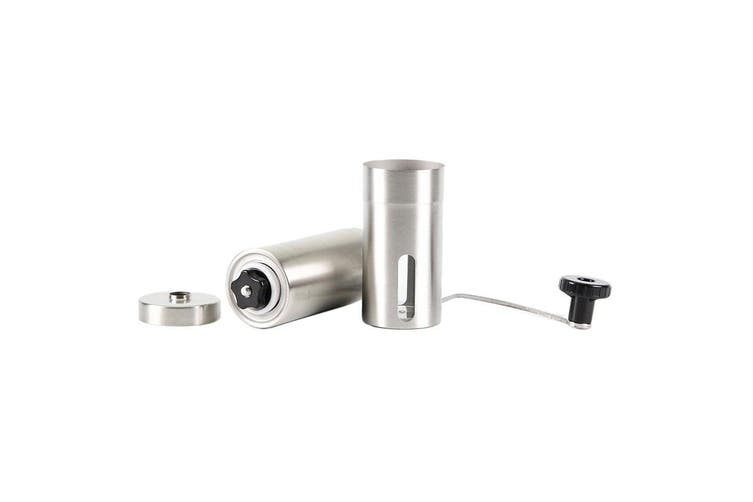 Stainless Steel Ceramic Coffee Grinder Burr Manual Portable Hand Crank Bean Mill