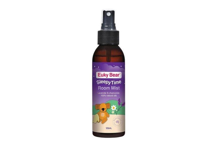125ml Room Mist Sleepy Time Euky Bear 100% Natural Sleep Lavender Pillow Spray