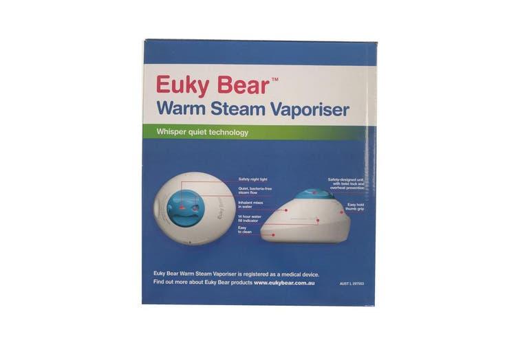 Steam Vaporiser Euky Bear Warm Room Electric Humidifier Nebuliser Hot Steamer
