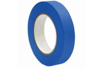 1x Blue Masking Tape 24mmx50m UV Resistant Painters Painting Outdoor Adhesive