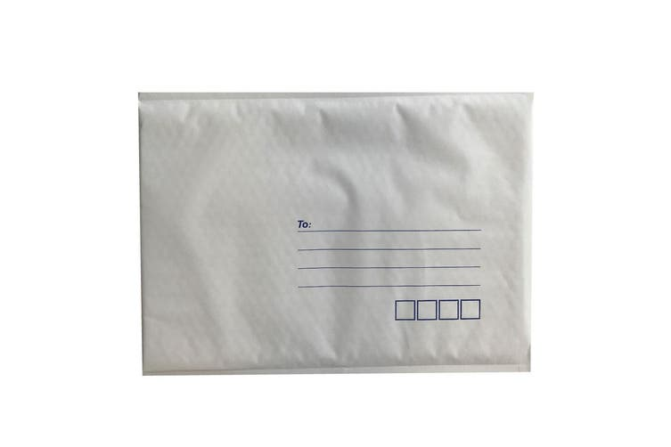 100x Tempest 240x340mm Bubble Mailers No.4 White Padded Eco Mail Bags Envelopes