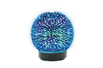 Essential Oil Aroma Diffuser Mirror Ball 3D Colour Fireworks Air Mist Humidifier
