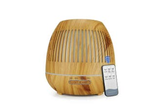 300ml Essential Oil Aroma Diffuser Remote Hollow Ultrasonic Aromatherapy Air