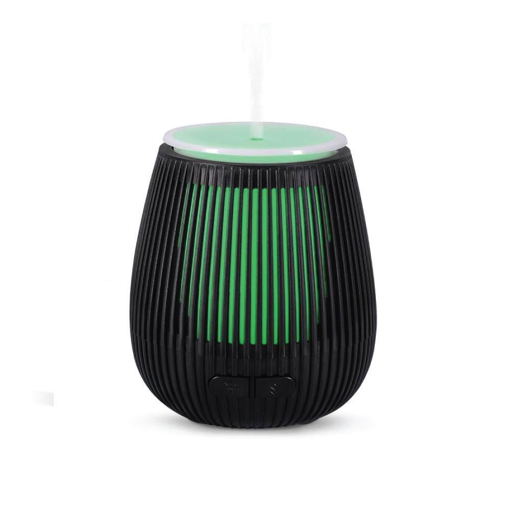 Usb Essential Oil Aroma Diffuser Black Portable Colour Ultrasonic Air Humidifier Matt Blatt
