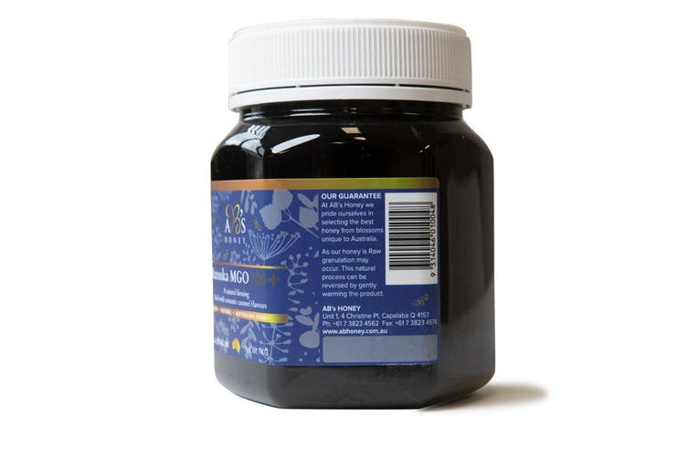 Dick Smith   1Kg MGO 100+ Australian Manuka Honey 100% Raw ...