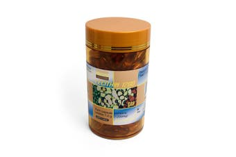 200x 1200mg Lecithin Supplement Capsules Soy Soya Costar Phospholipids Vitamin