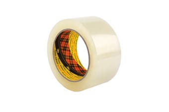 3M Scotch Clear Packaging 370 Tape 48mmx75m Strong Packing Moving Adhesive