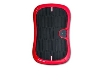 Red Mini Vibration Machine Platform Plate Whole Body Exercise Workout Board