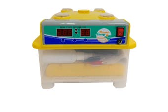 Automatic 8 Egg Incubator + Candler Hatching Eggs Chicken Quail Duck Goose