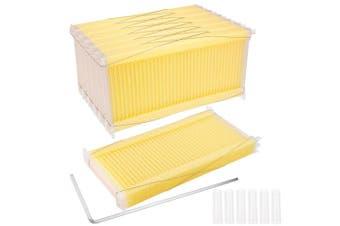 7 Pcs Beehive Frames Auto Flow Harvesting Comb Beekeeping Food Grade Hive Frame