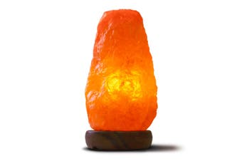 12V 12W 3-5 Kgs Himalayan Pink Salt Lamp Natural Rock Crystal Light Bulb On/Off