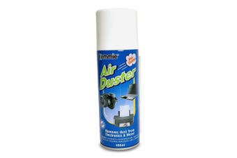 Low Pressure Compressed Air Duster Cleaner Can Laptop PC Keyboard Camera Lens