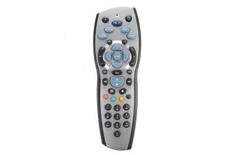 2x FOXTEL REMOTE Control Replacement For FOXTEL MYSTAR SKY NEW ZEALAND - Silver