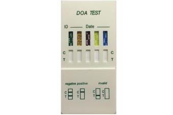 Saliva Drug Test Kit 5 In 1 Oral Screen Testing Mouth Street Screening