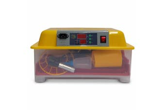 Automatic 24 Egg Incubator + Accessories Hatching Eggs Chicken Quail Duck Goose