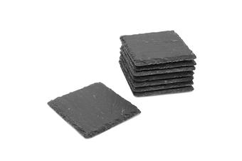 Non-Slip Slate Coasters | M&W 8pc
