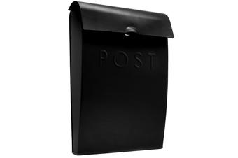 Wall Mounted Post Box | M&W Black New