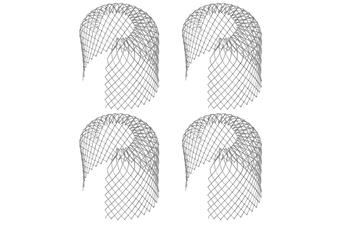 Pack of 4 Metal Gutter Guards | Pukkr