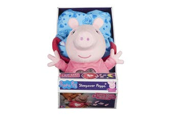 Peppa Pig Sleepover Peppa Plush Set