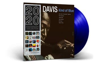 Miles Davis - Kind Of Blue Limited Edition Blue Vinyl