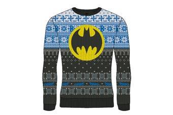 DC Batman - Logo Unisex Christmas Jumper Large