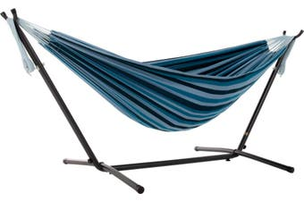 Hammock With Stand Combo Blue Lagoon