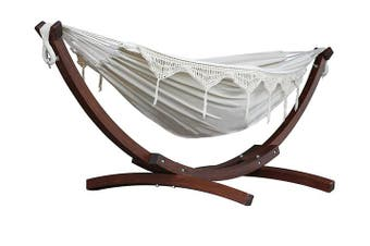 Timber Free Standing Hammock Natural