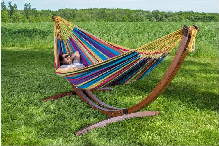 Timber Free Standing Hammock Tropical