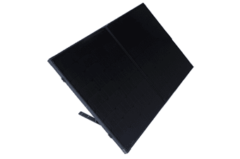 160w Portable Mono Solar Panel 12v Folding Kit For Camping Caravan Boat Charging