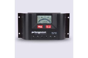 20A 12v 24v fangpusun Regulator Charge Controller Caravan Boat Camping Solar