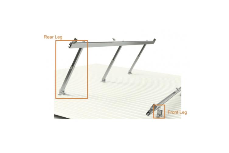 Adjustable Rear Leg Short For Solar Panel Installation x 5