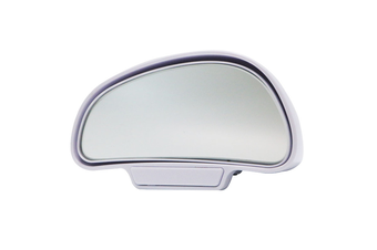YASOKRO Car Mirror 360 Degree Adjustable Wide Angle Side Rear Mirrors blind spot Snap way for parking Auxiliary rear view mirror - White-Left