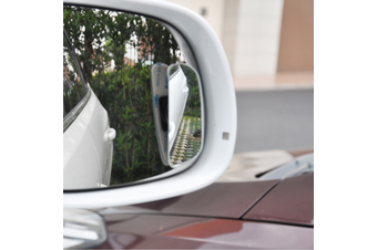 YASOKRO 1 Pair Car Rear View Mirror Auto Safety Blind Spot Mirror Rotatable 360 Degree Adjustable Wide Angle Convex Mirror for parking
