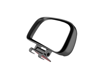 YASOKRO Car Blind Spot Mirror Wide Angle Mirror Adjustable Convex Rearview Mirror for Safety Parking Car Mirror YSR039 - Black
