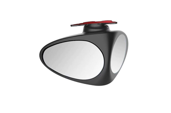 YASOKRO Car Blind Spot Mirror Wide Angle Mirror 360 Rotation Adjustable Convex Mirror for Safety Parking Right Rear View mirror - Black-Left