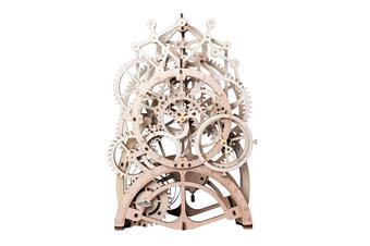 Robotime 3D Puzzle Movement Assembled Wooden Pendulum clock