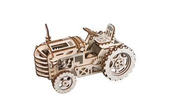 Robotime 3D Puzzle Movement Assembled Wooden Tractor