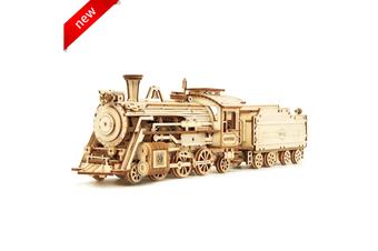 Robotime 3D Self-assembled 1:80 Scale Model Train—Prime Steam Express