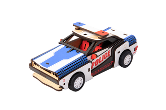 Robotime Inertia Power Vehicles Police Car