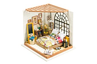 Robotime DIY Dollhouse Kit-Alice's Dreamy Bedroom
