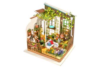 Robotime DIY Dollhouse Kit-Miller's Garden